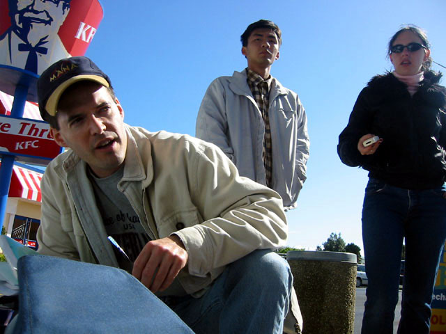 Alan's first ever effort at directing, October 2004